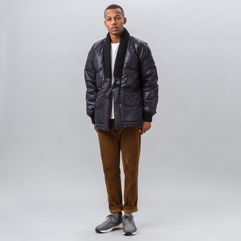 visvim Dotera Down Coat in Black - Notre