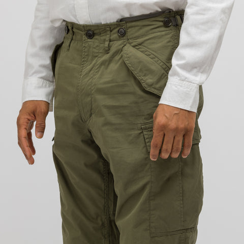 visvim Eiger Sanction Pants in Green - Notre