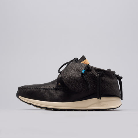 visvim Red Deer Leather FBT in Black - Notre
