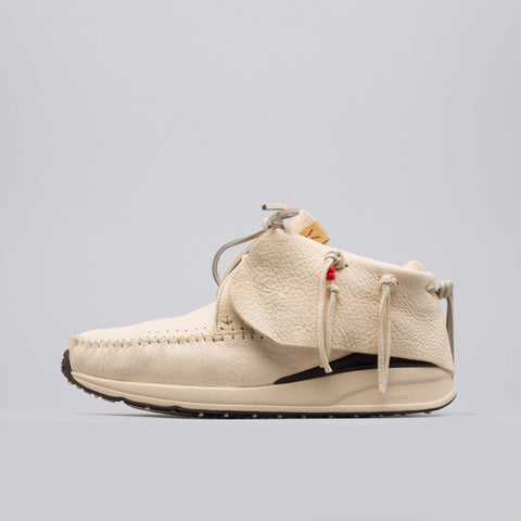 visvim Red Deer Leather FBT in Off White - Notre