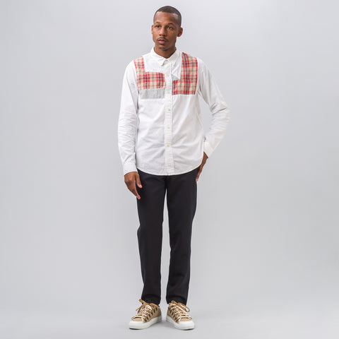 visvim Granger Shirt in White Chambray - Notre