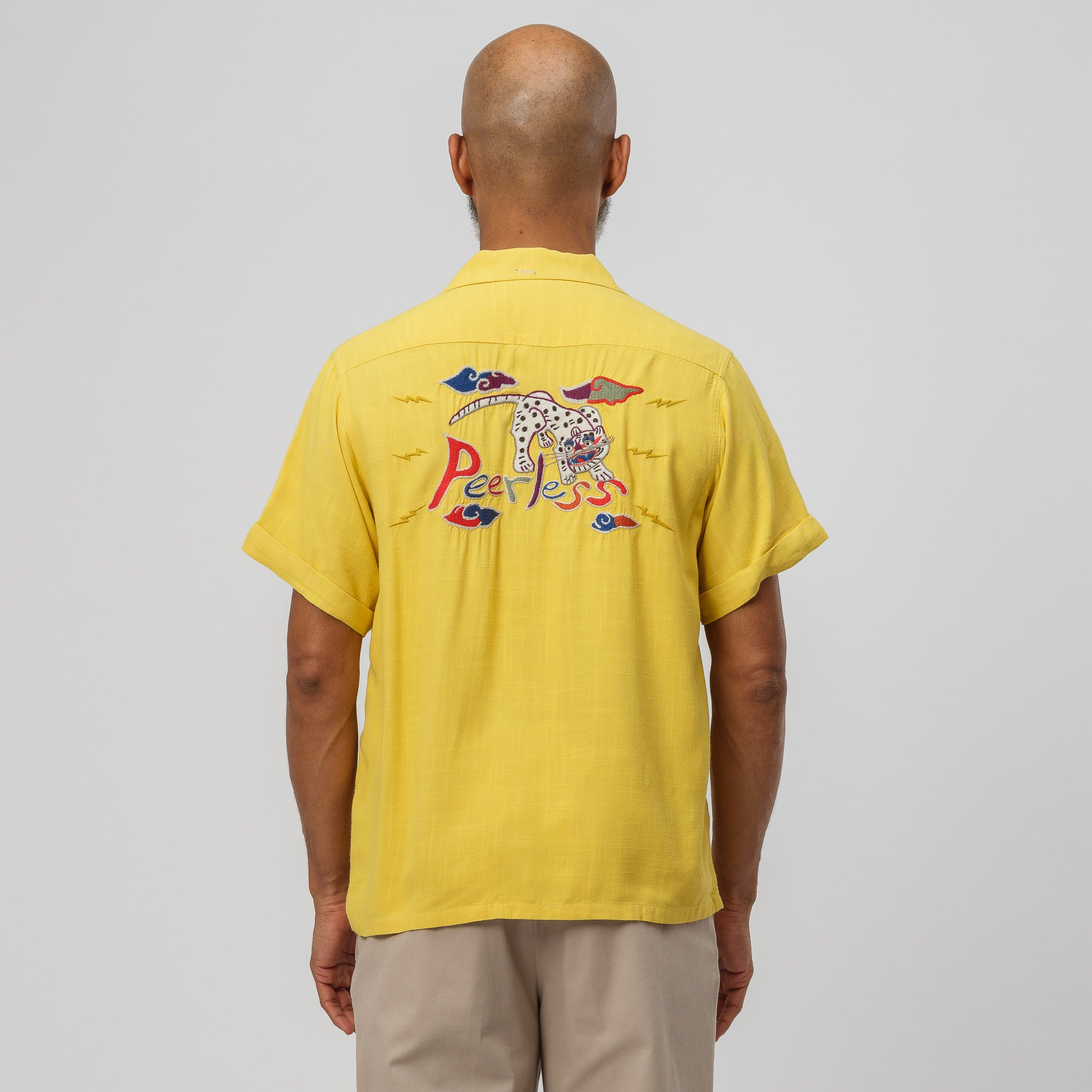 Irving Shirt S/S in Yellow