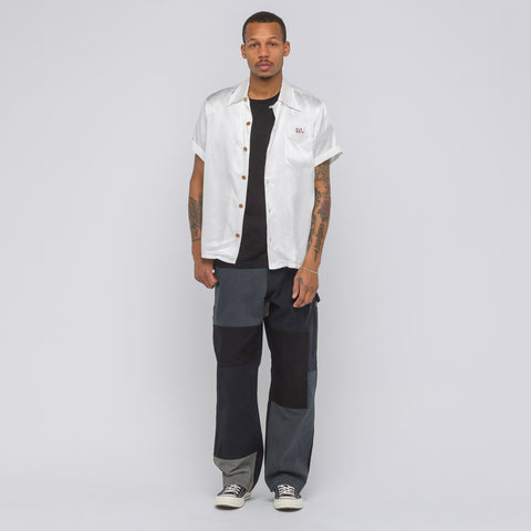 visvim Peerless Irving Short Sleeve Shirt in White - Notre
