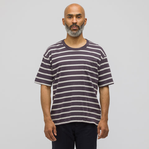 visvim Jumbo T-Shirt in Border Navy - Notre