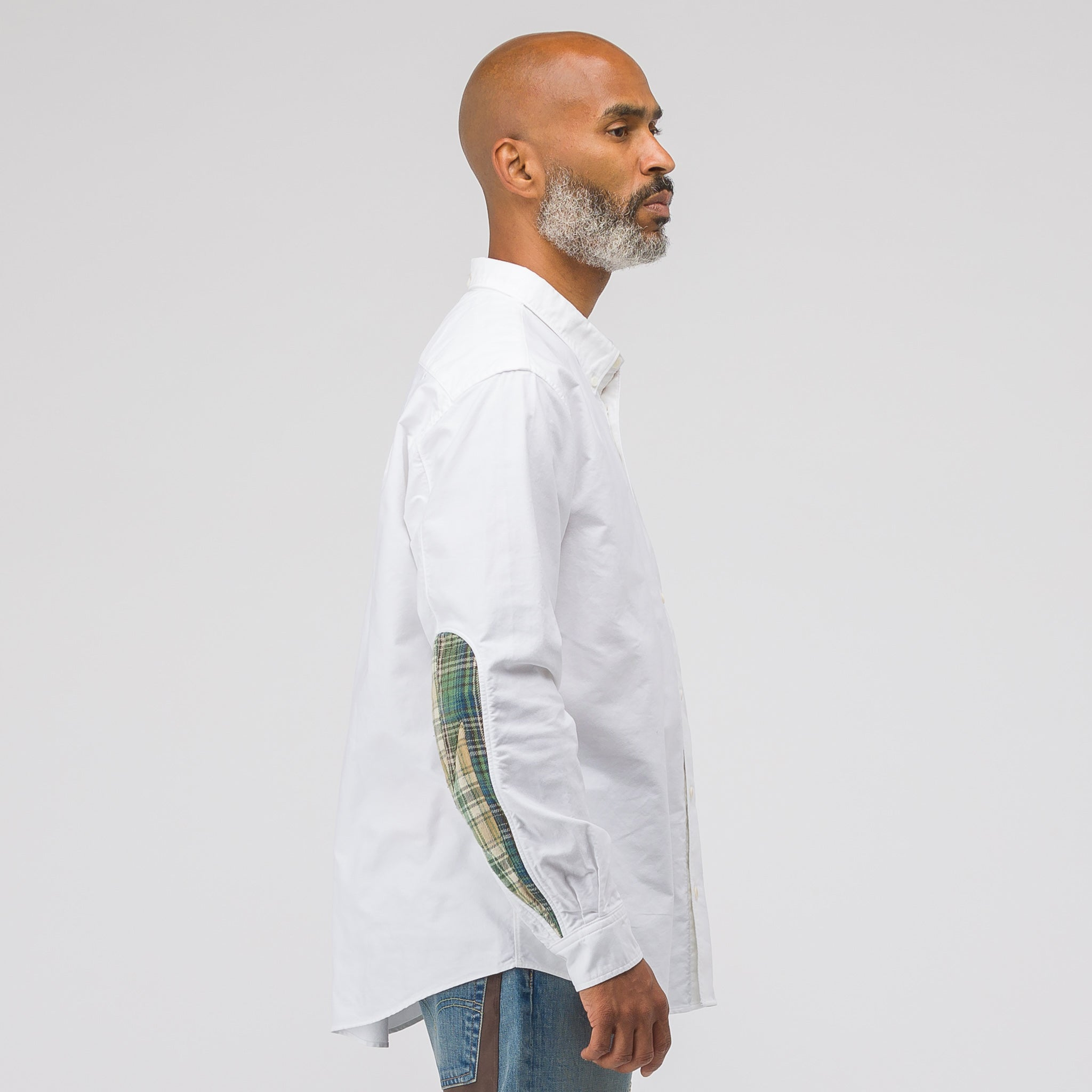 Lungta Albacore Giza Long Sleeve Shirt in White
