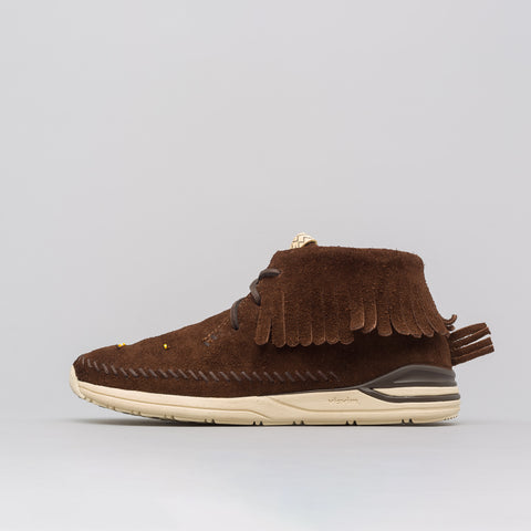 visvim Maliseet Shaman Mid-Folk in Dark Brown - Notre