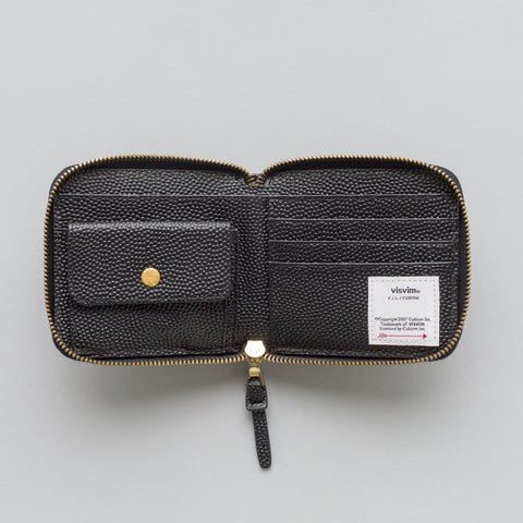 visvim Sixth Man Bifold Wallet in Black - Notre