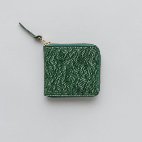 visvim Sixth Man Bifold Wallet in Green - Notre