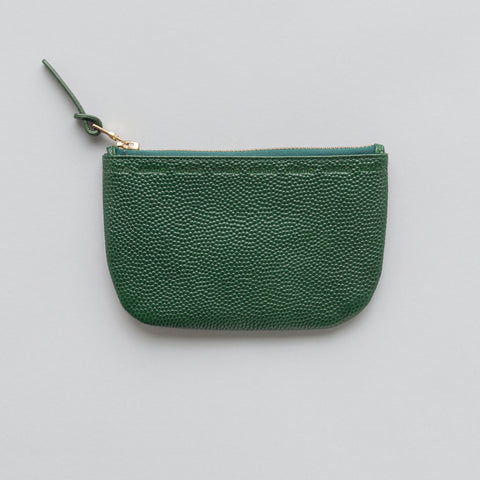 visvim Sixth Man Wallet L in Green - Notre