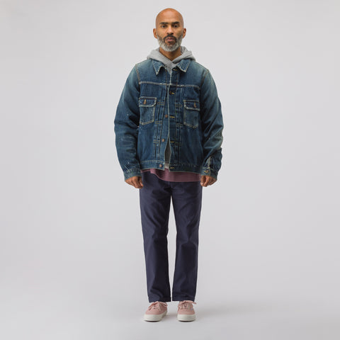 visvim SS 101 Jacket Jumbo Damaged (N.D. Lining) in Pink - Notre