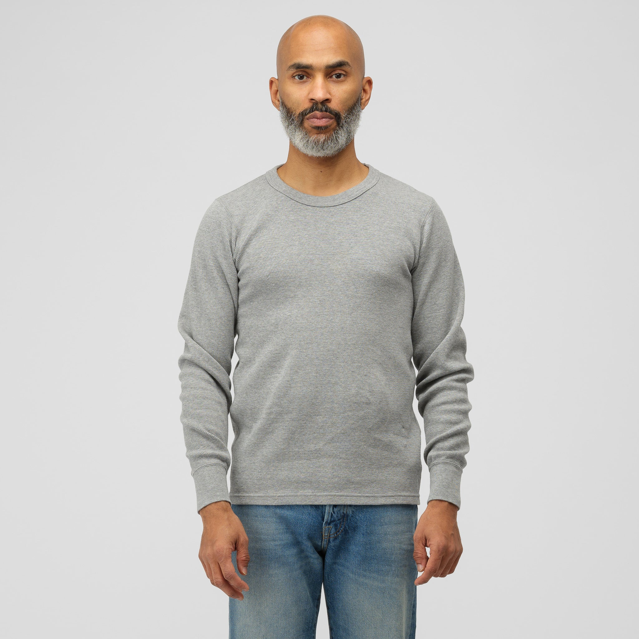 Sublig Thermal Crew 3-Pack in Grey