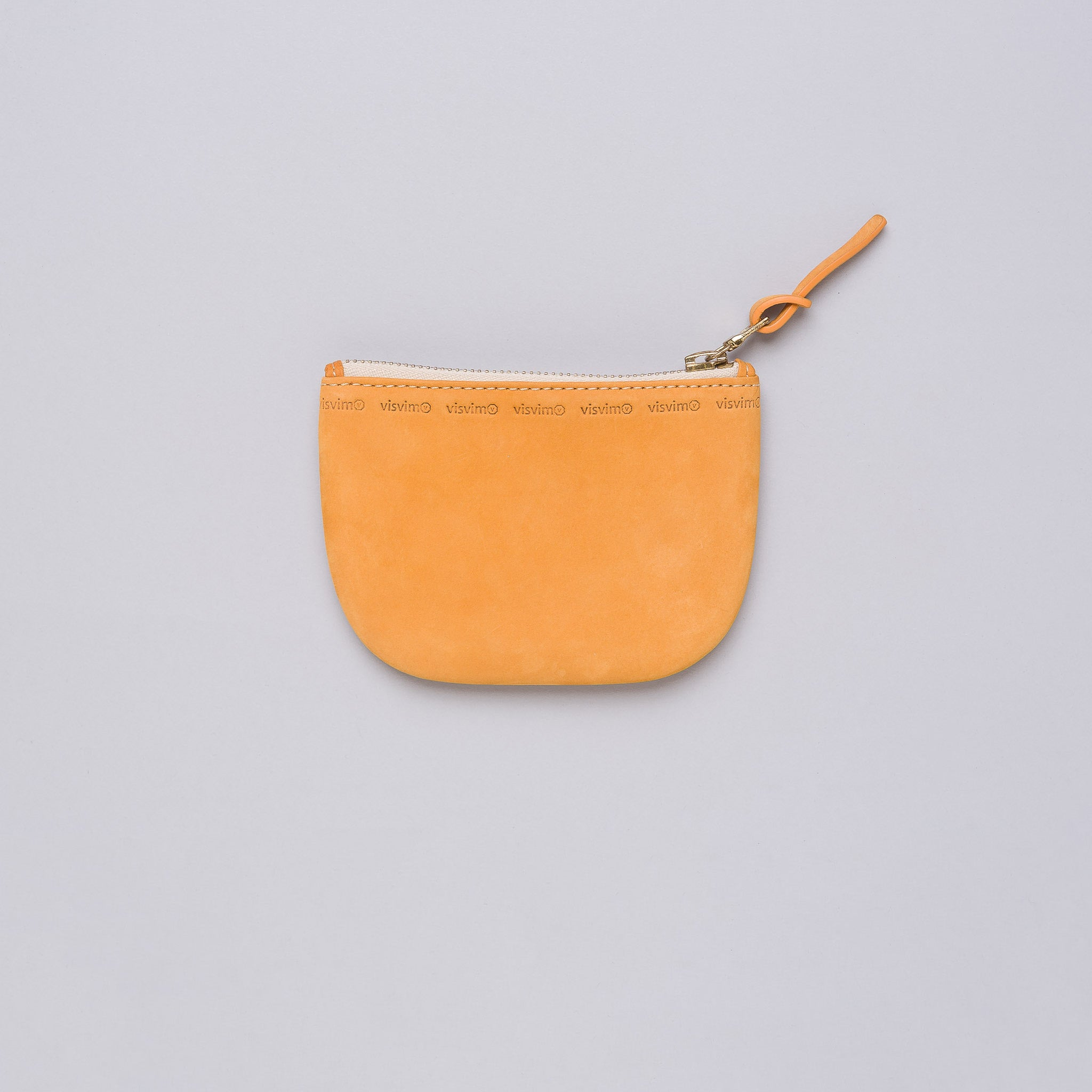 Veggie Wallet in Tangerine