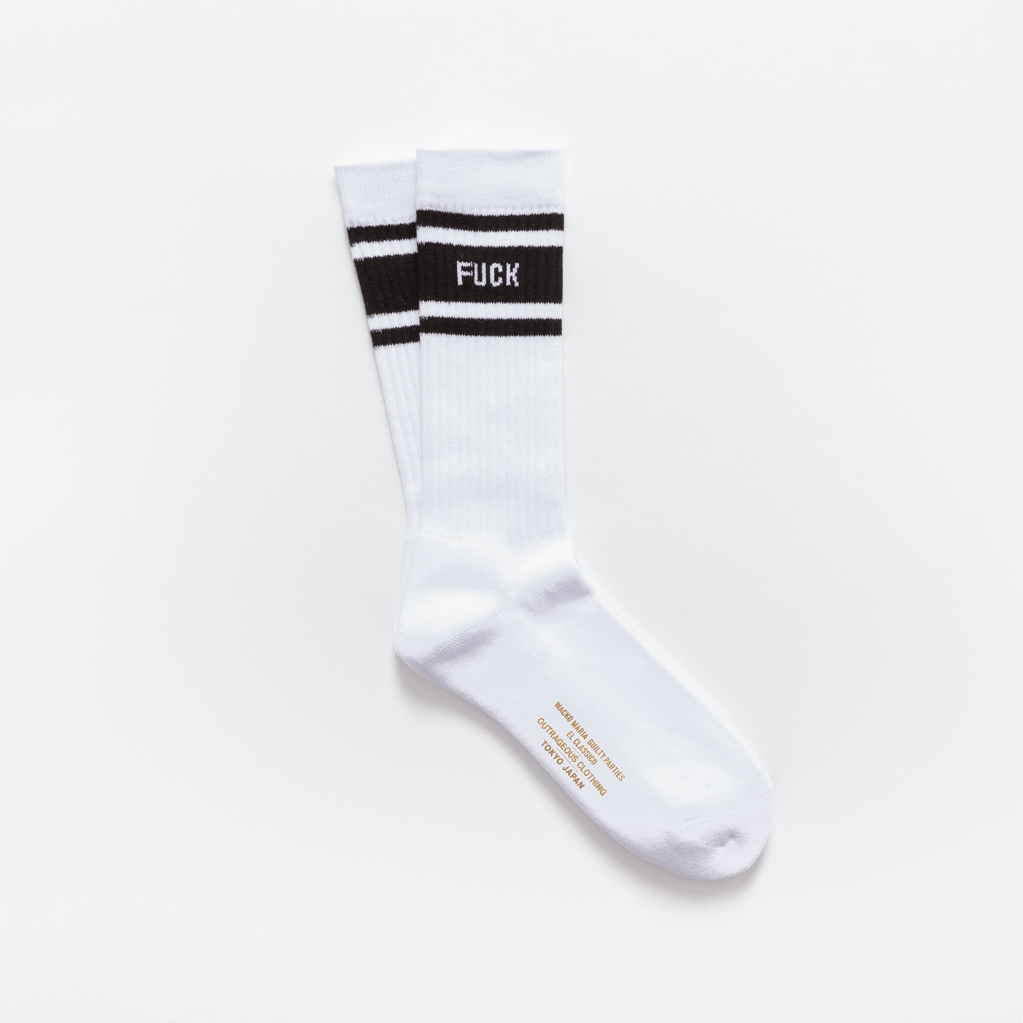 Skater Socks (Type-2) in White