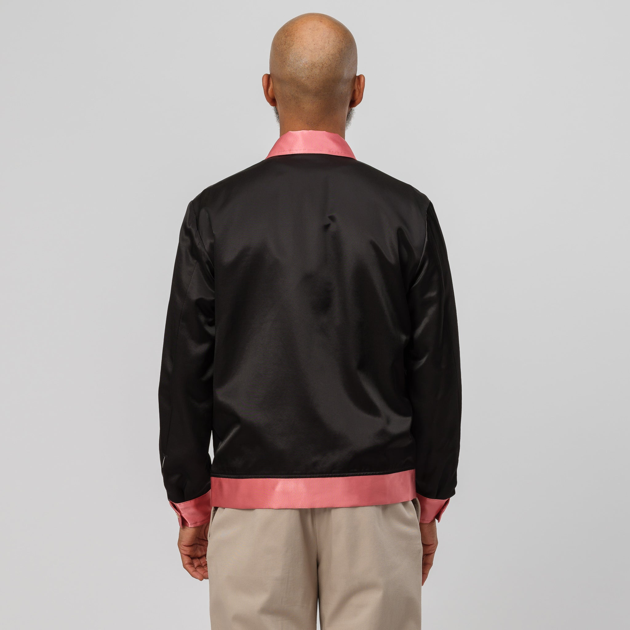 Two-Tone 50's Jacket in Black
