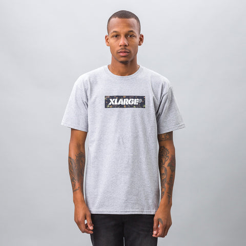 XLarge Forestry Stencil Tee in Grey - Notre