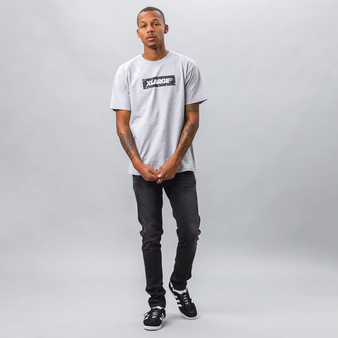XLarge - Forestry Stencil Tee in Grey - Notre - 1