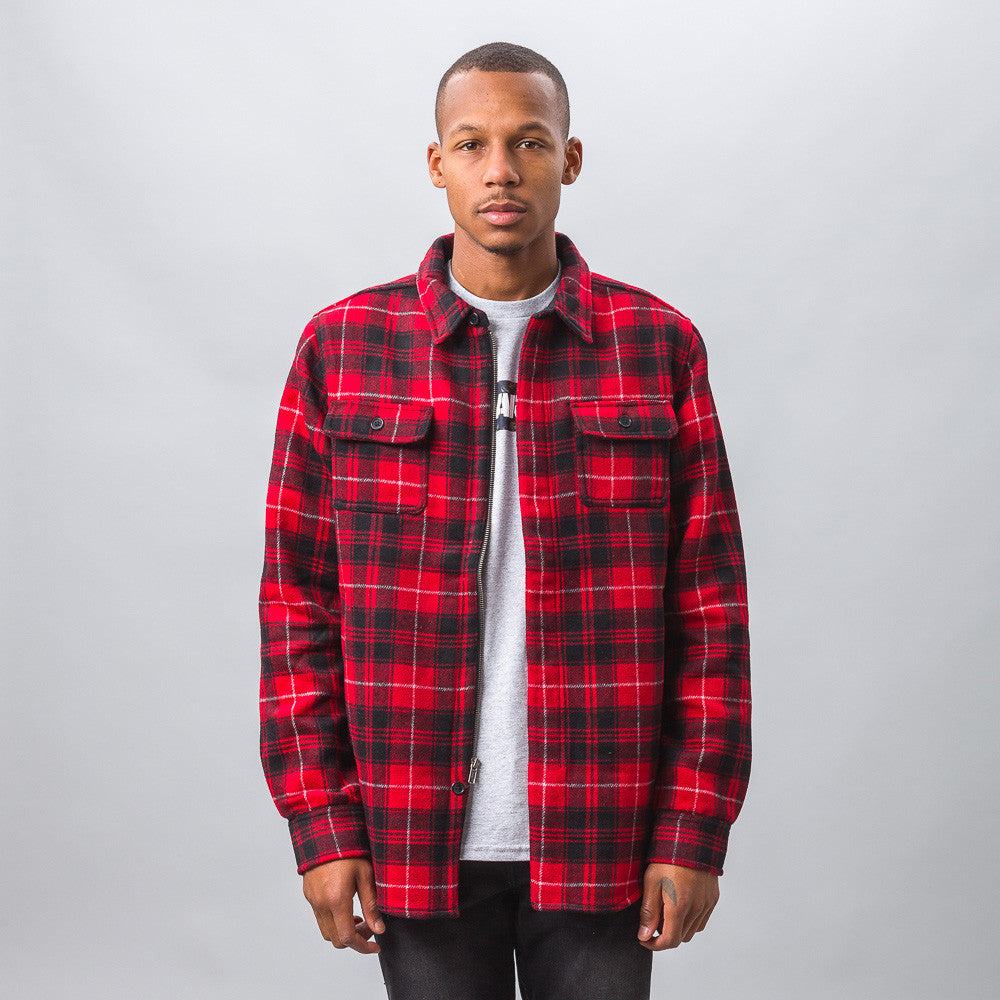 XLarge - Knox Long Sleeve Shirt in Red - Notre - 1