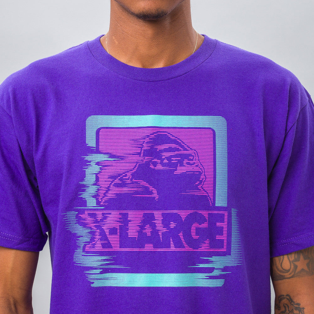 Warp Tee in Purple