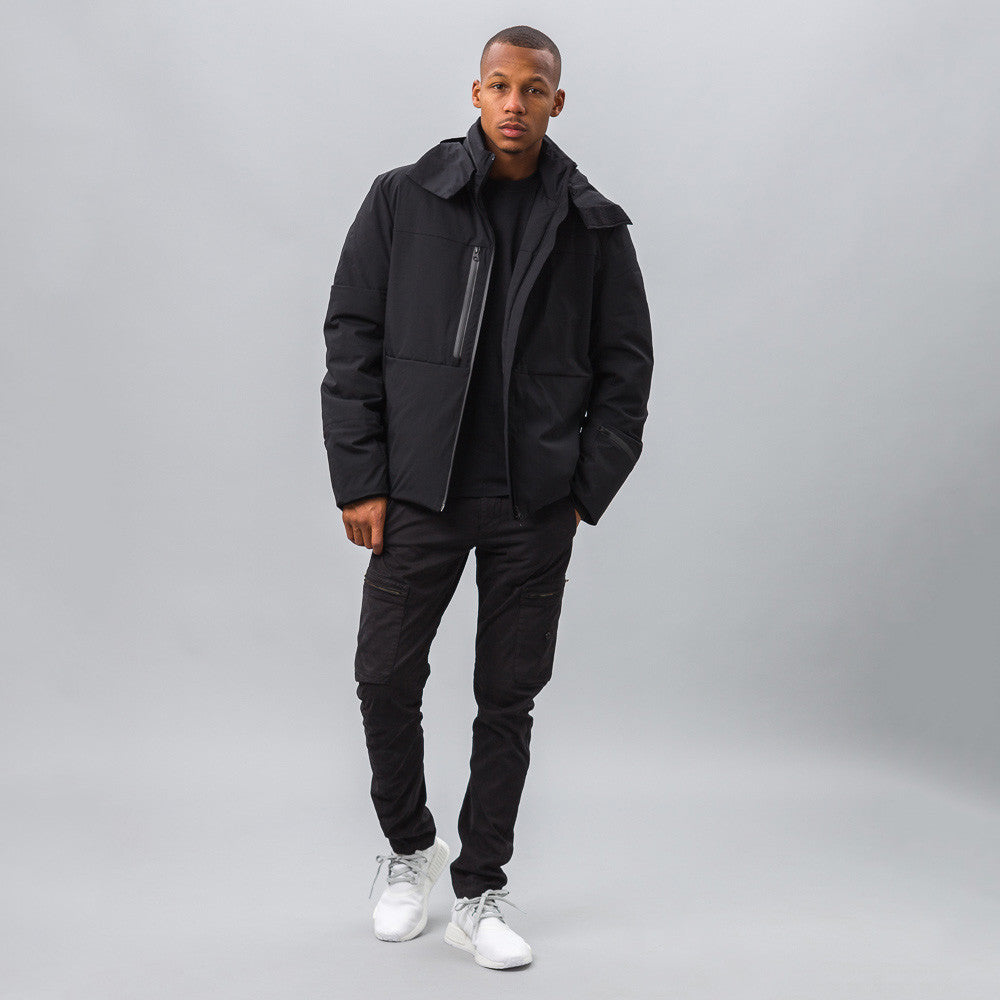 Y-3 - Matte Down Jacket in Black - Notre - 1