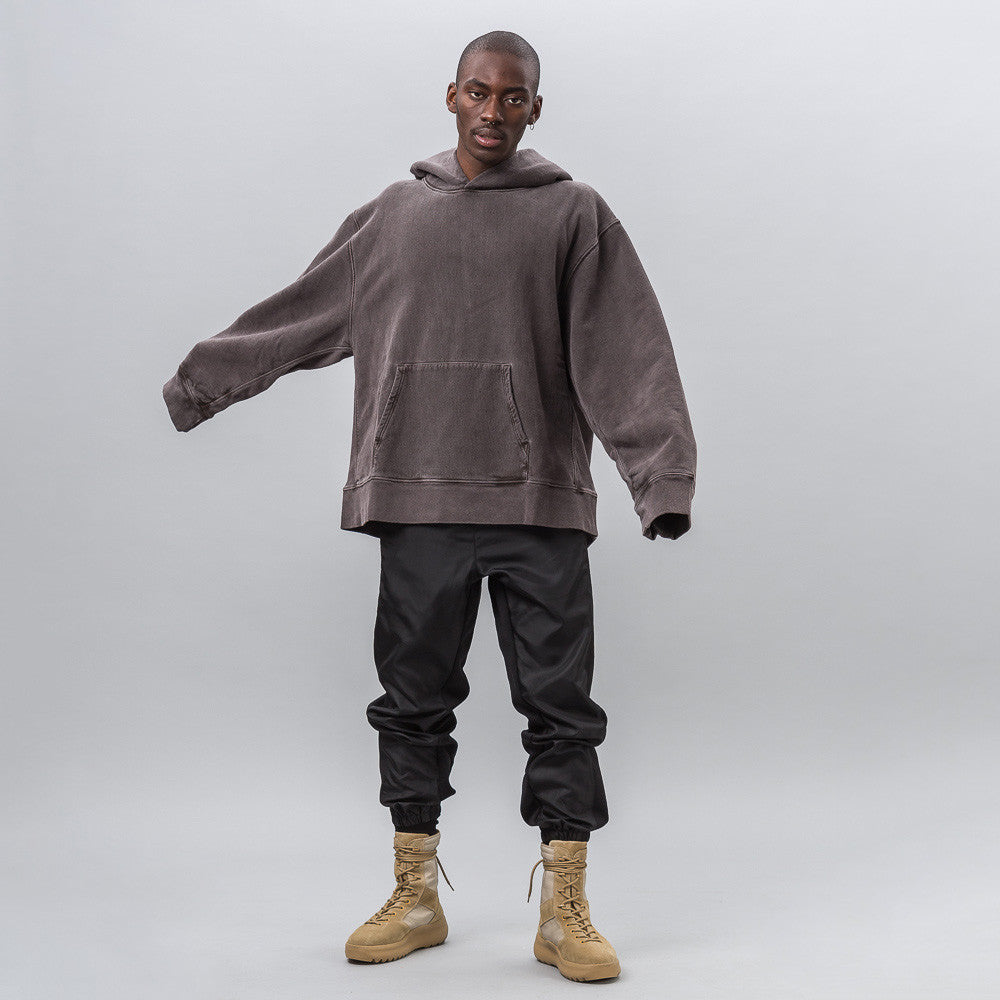 Yeezy Season Three - Fleece Hoodie in Onyx Dark - Notre - 1