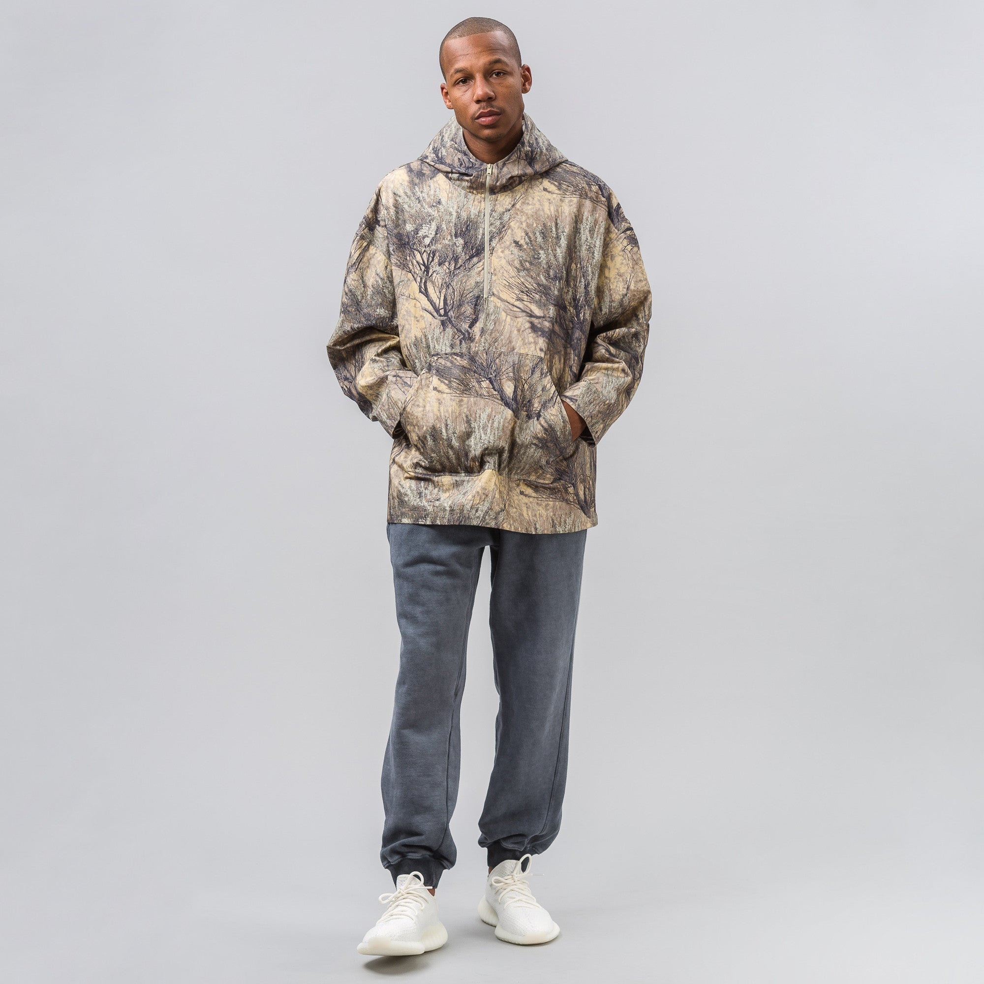 Camouflage Pullover Jacket