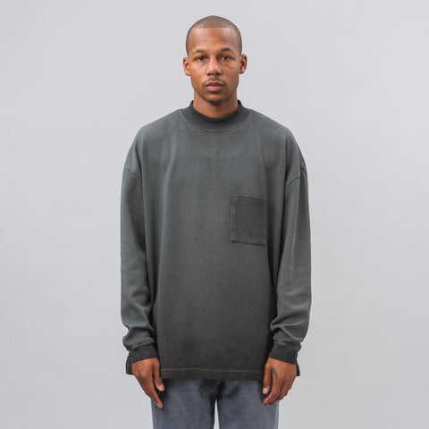 Yeezy Season Four Long Sleeve Tee with Pocket - Notre