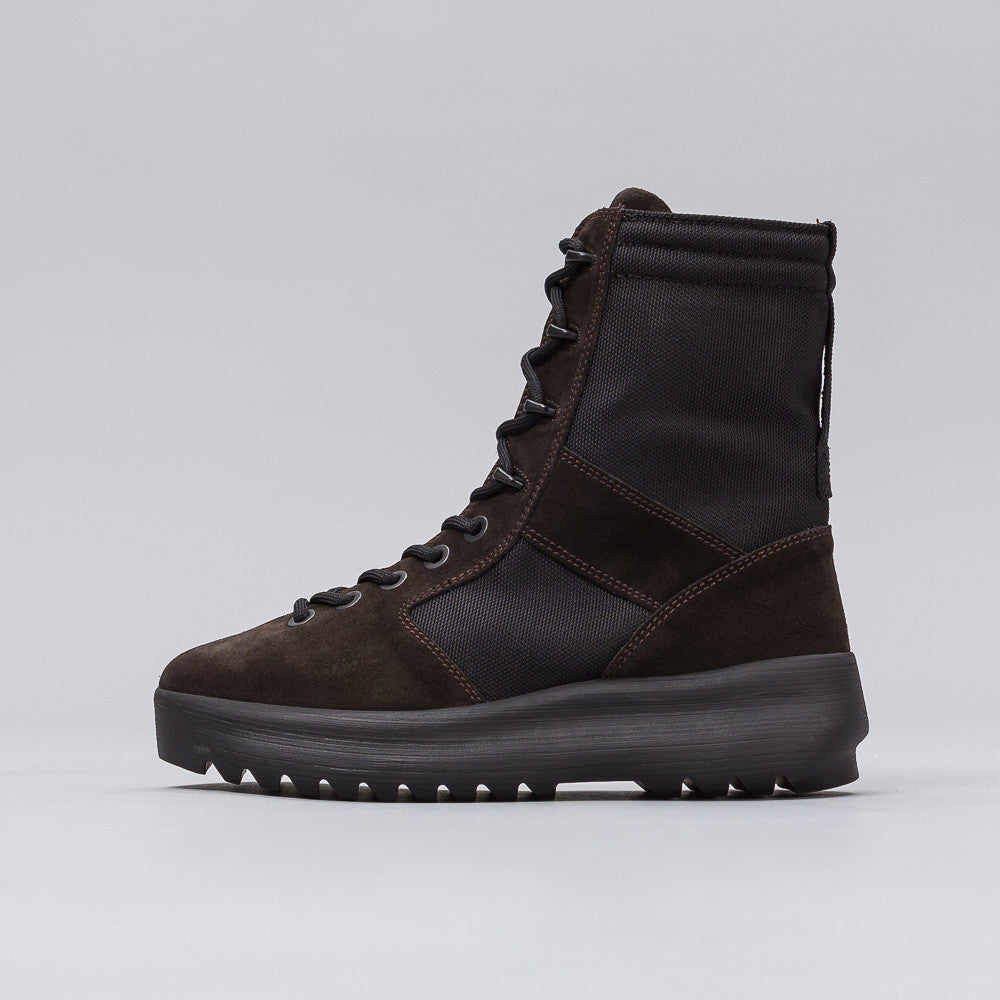 Yeezy Season Three - Mens Military Boot in Onyx Shade - Notre - 1