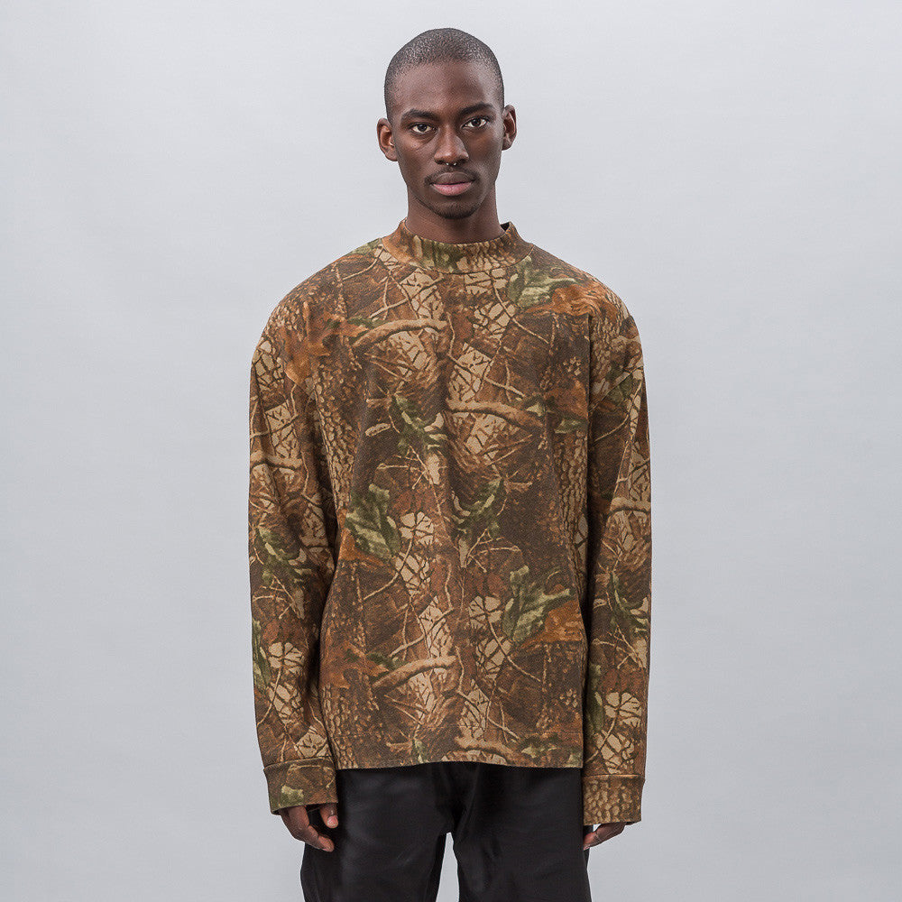 Yeezy Season Three Moto Long Sleeve in Camo 14