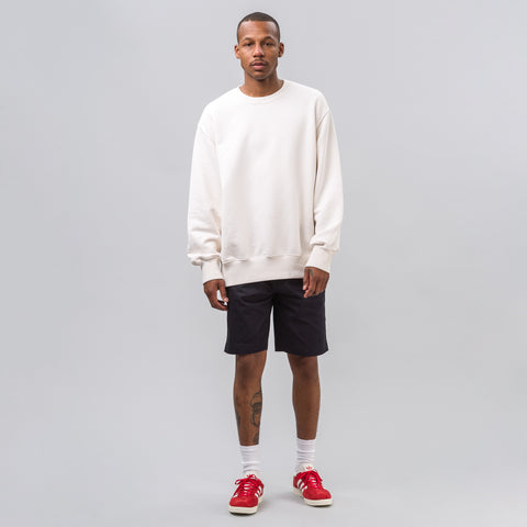 Yeezy Season Four Boxy Crewneck in Turtledove - Notre