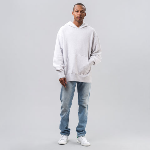 Yeezy Season Four Boxy Fit Hoodie in Grey - Notre