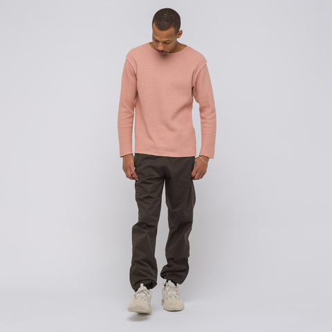 Yeezy Season Six Cotton Jogger in Umber - Notre