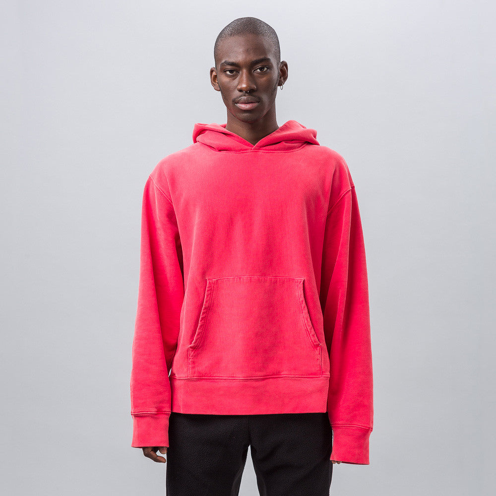 Yeezy Season Three - Fleece Hoodie in Flouro Red - Notre - 1