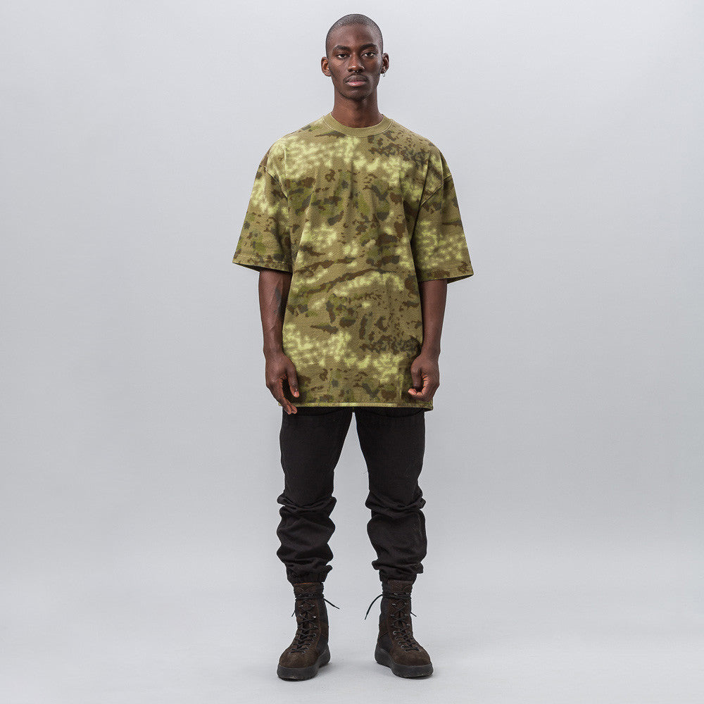 Yeezy Season Three - Heavy Knit Tee in Camo - Notre - 1