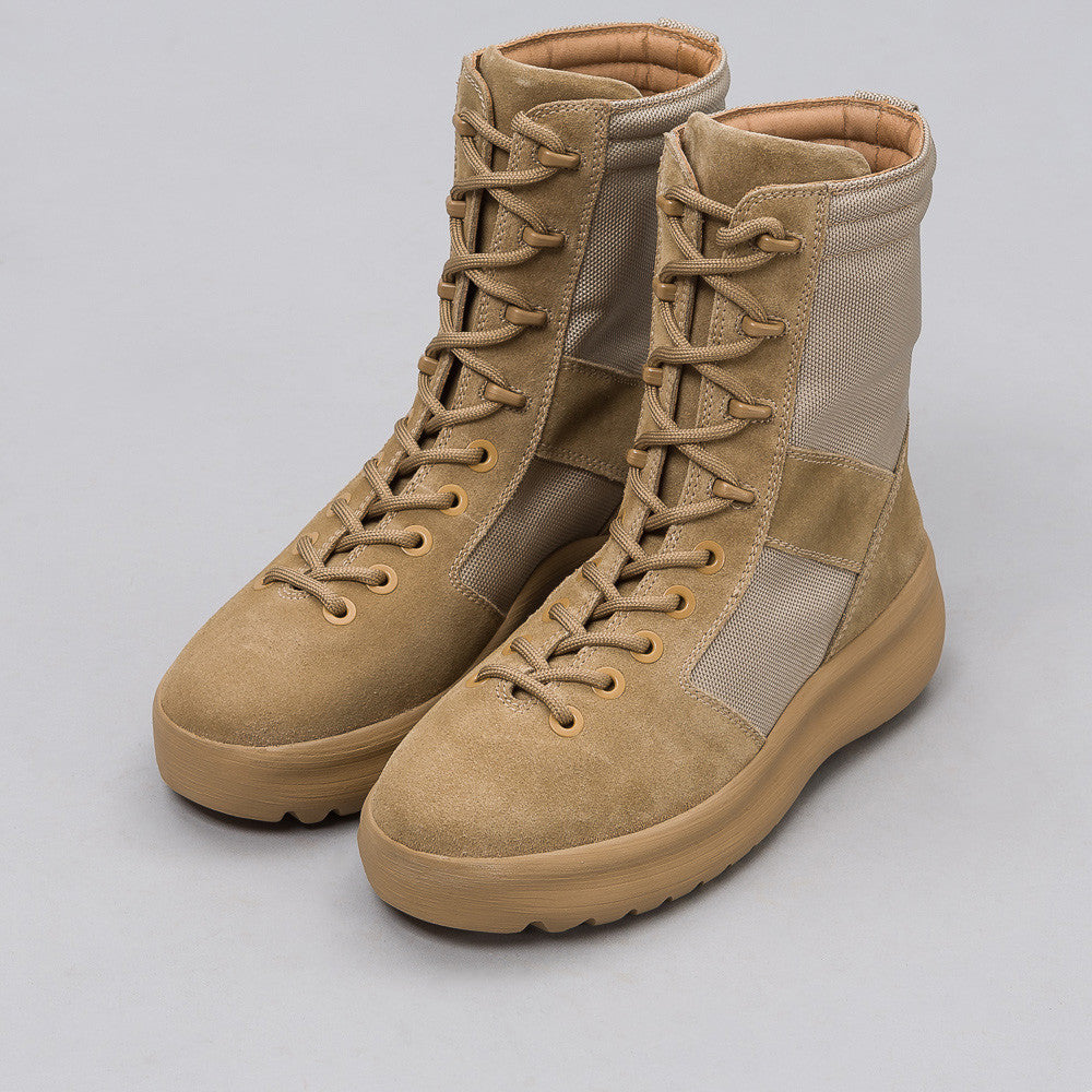 Yeezy Season Three - Men's Military Boot in Rock - Notre - 1
