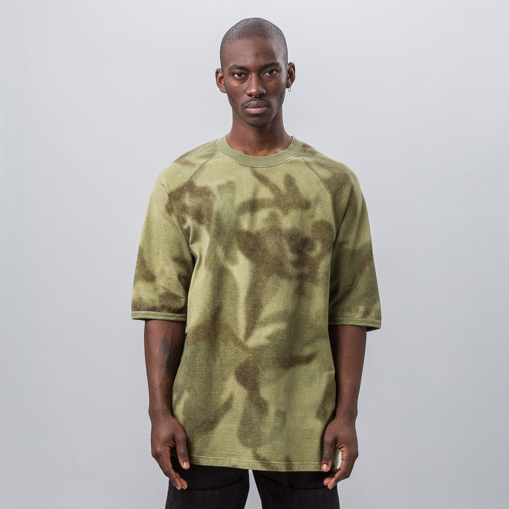 Yeezy Season Three - Raglan Knit Tee in Camo - Notre - 1