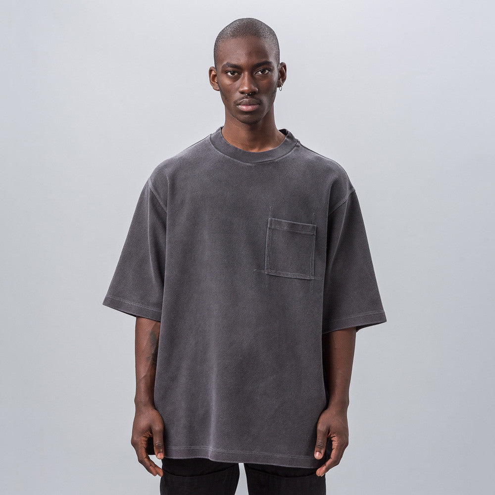 Yeezy Season Three - Rugby Knit Tee in Onyx Pitch - Notre - 1