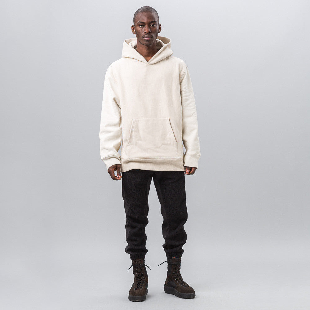 Yeezy Season Three - Two Tone Hoodie in Off White - Notre - 1