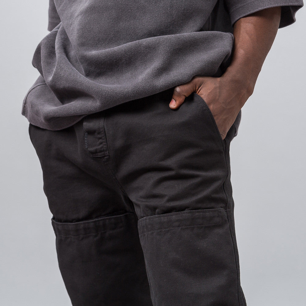 Yeezy Season Three - Velcro Cargo Pant in Black - Notre - 1
