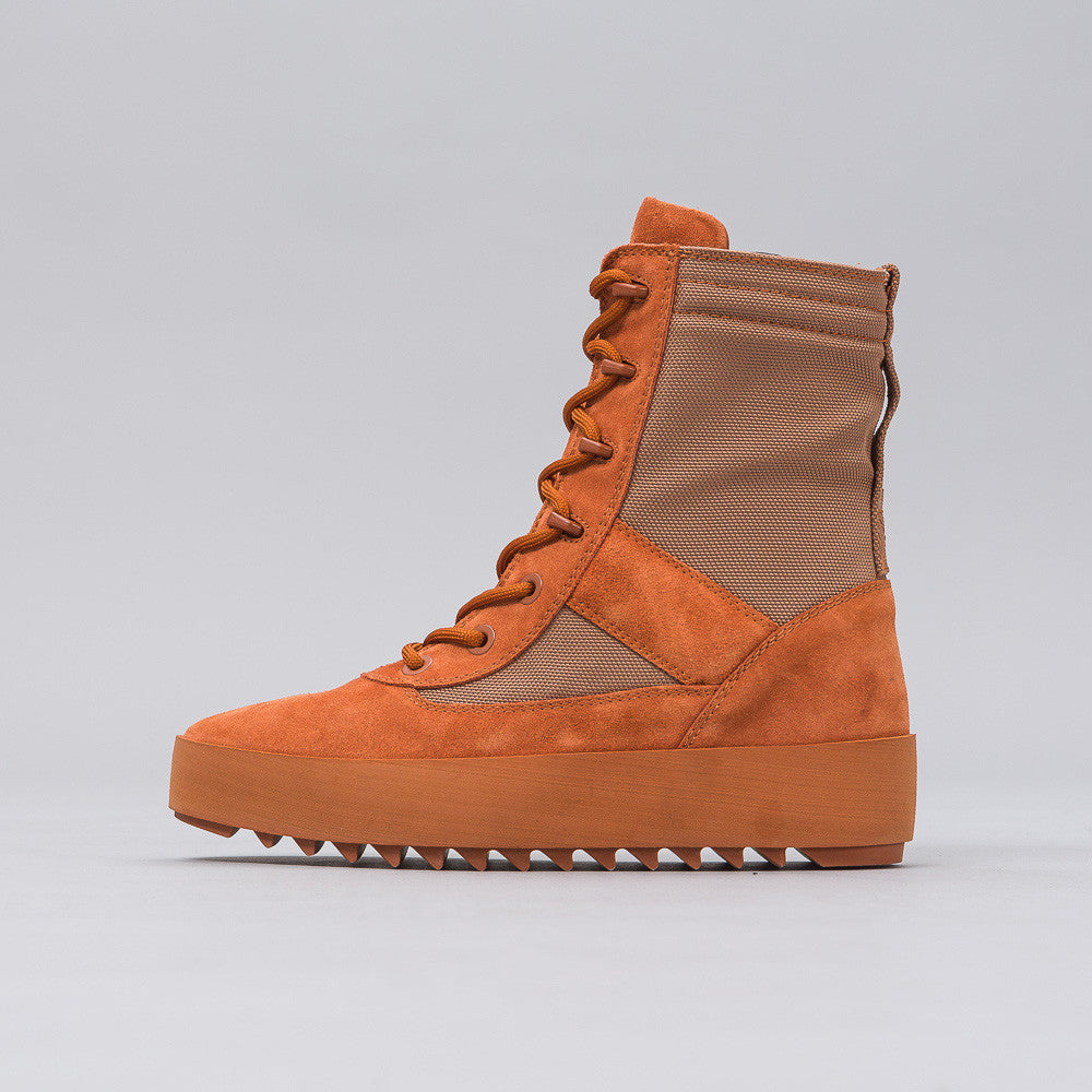 Yeezy Season Three - Women's Military Boot in Burnt Sienna - Notre - 1