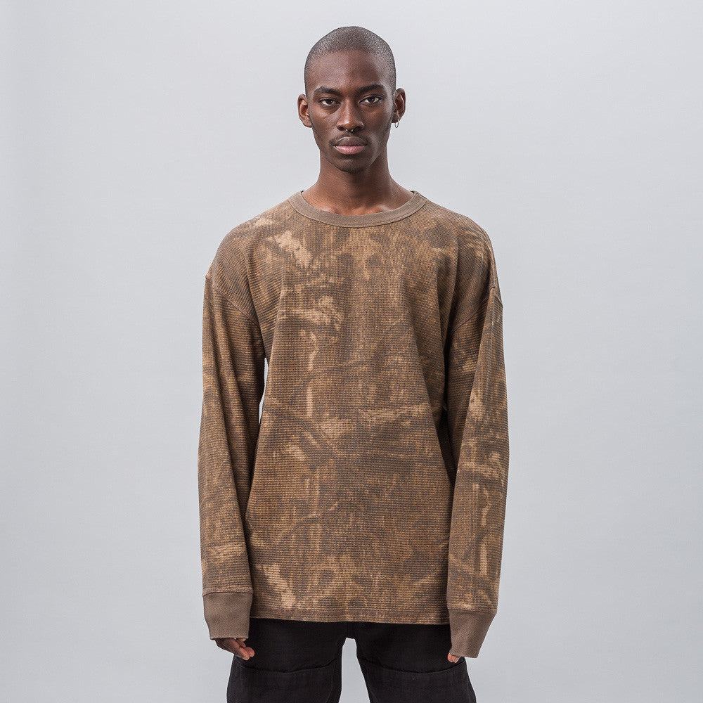 Yeezy Season Three - Thermal Long Sleeve in Camo - Notre - 1