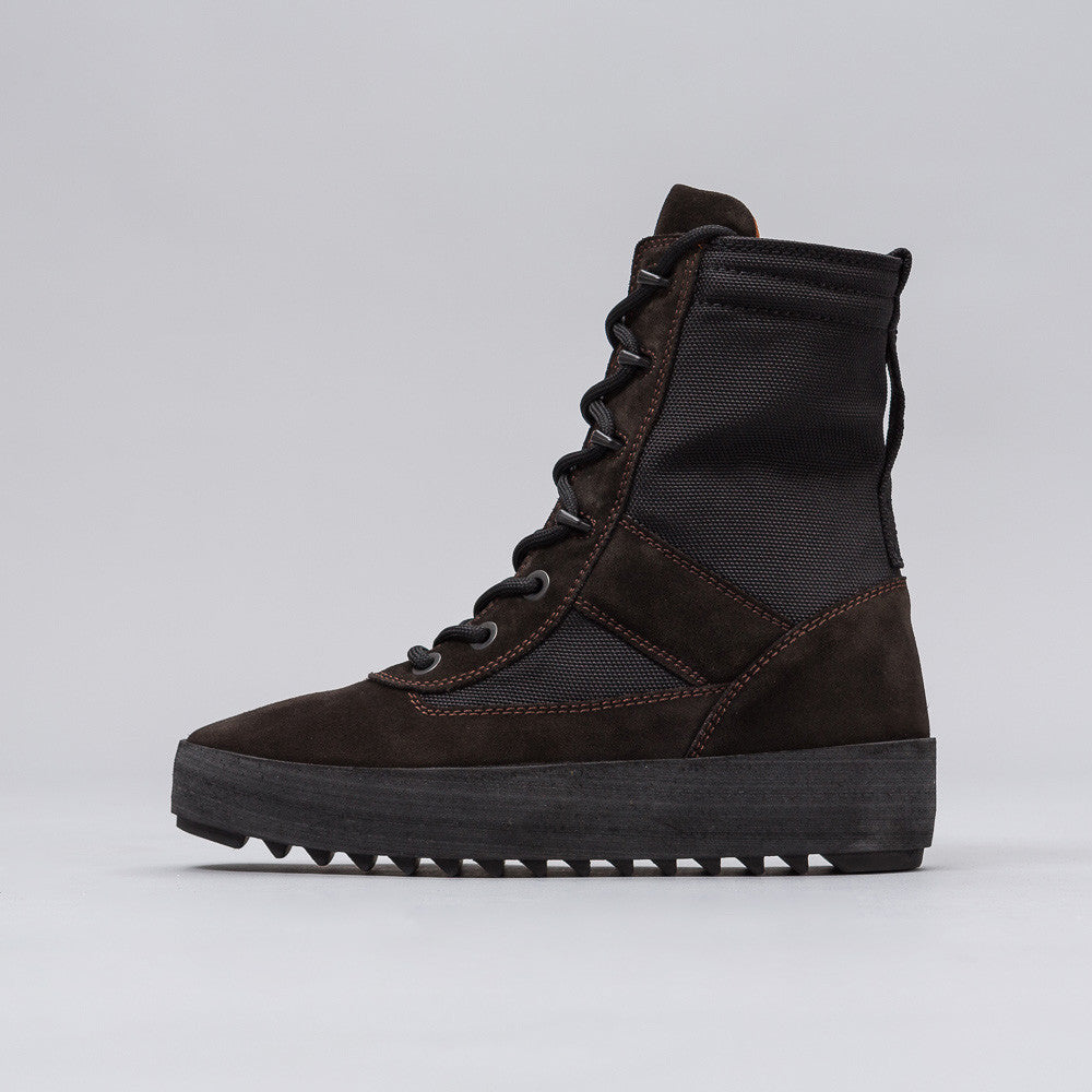 Yeezy Season Three - Women's Military Boot in Onyx - Notre - 1