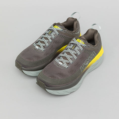 Hoka One One Bondi 6 in Black Olive - Notre