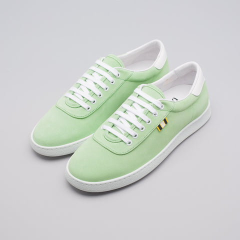 Aprix Suede Low in Lime - Notre