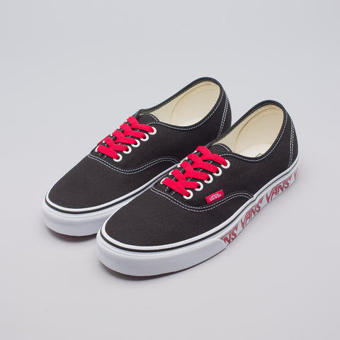 Vans Authentic Sketch Sidewall in Black - Notre