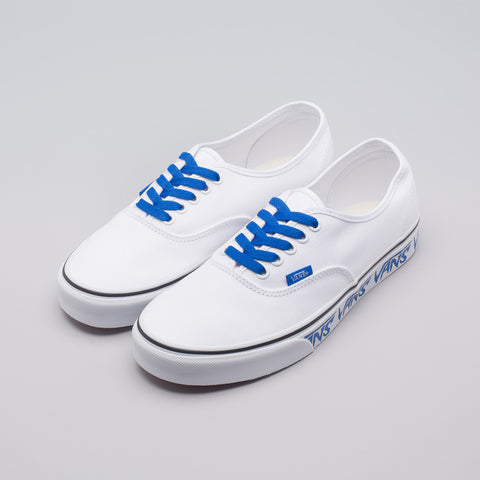Vans Authentic Sketch Sidewall in True White - Notre