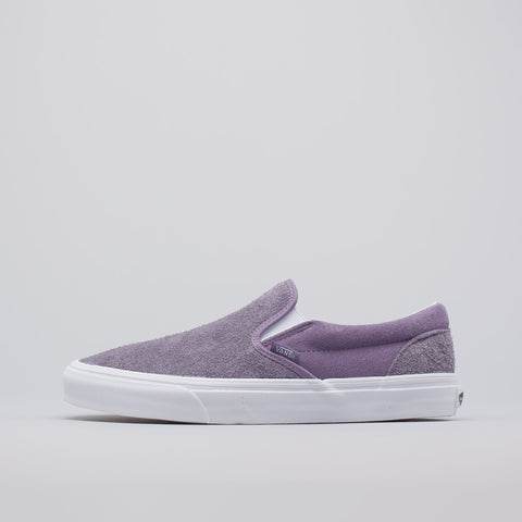 Vans Classic Slip-On in Purple Hairy Suede - Notre