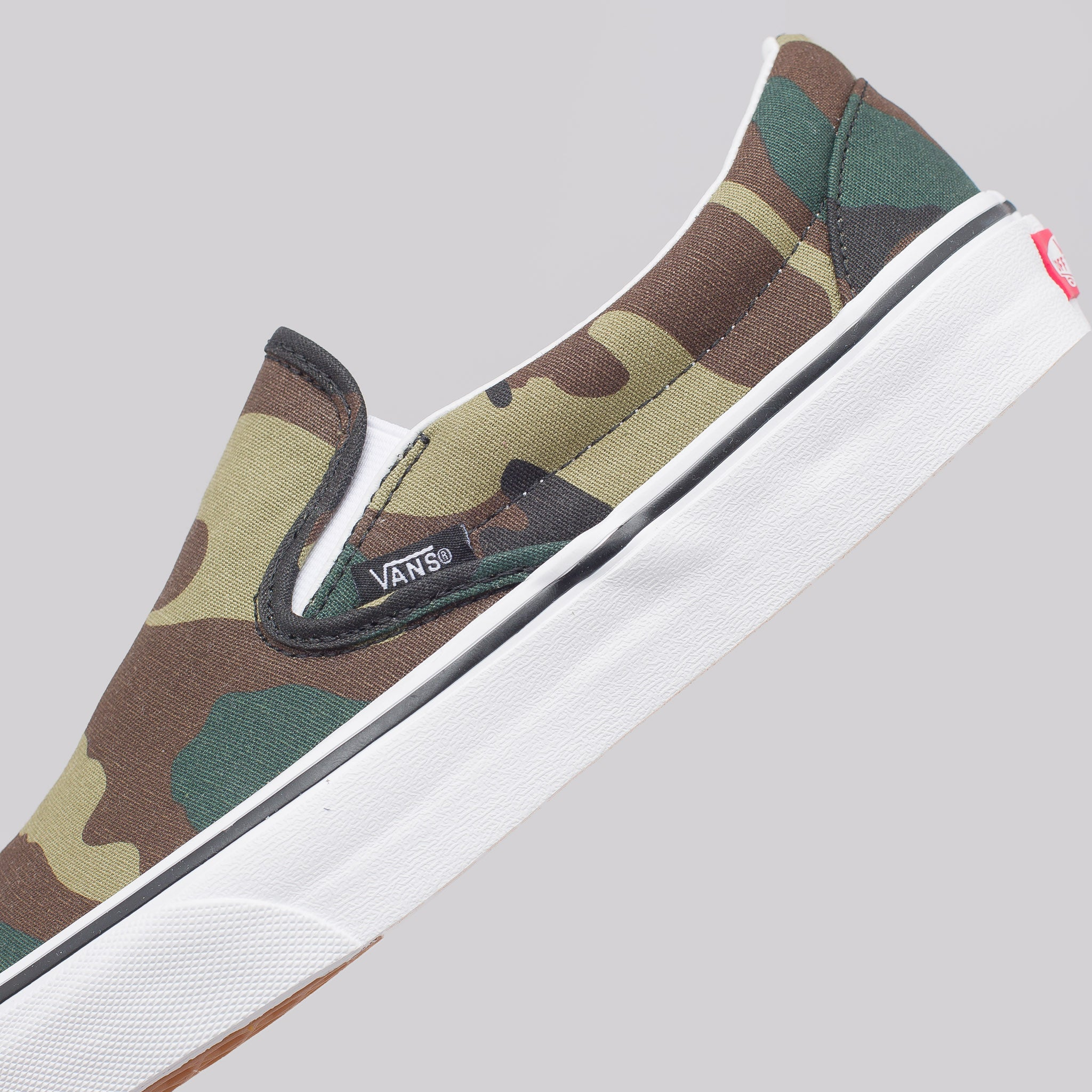 Classic Slip-On in Woodland Camo