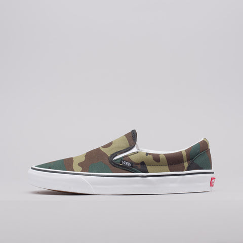 Vans Classic Slip-On in Woodland Camo - Notre