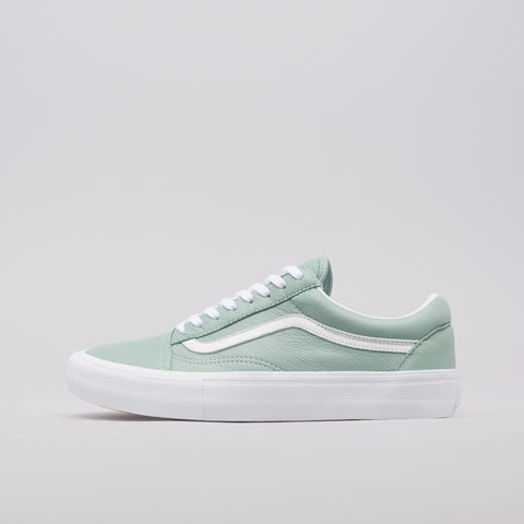 Vans Vault Old Skool VLT LX Italian Leather in Cielo - Notre