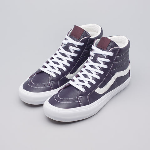 Vans Vault Sk8-Hi Reissue VL Italian Leather in Liz - Notre